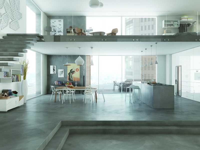 Empresa hormig n pulido en m laga empresa pavimentos for Hormigon pulido para interiores