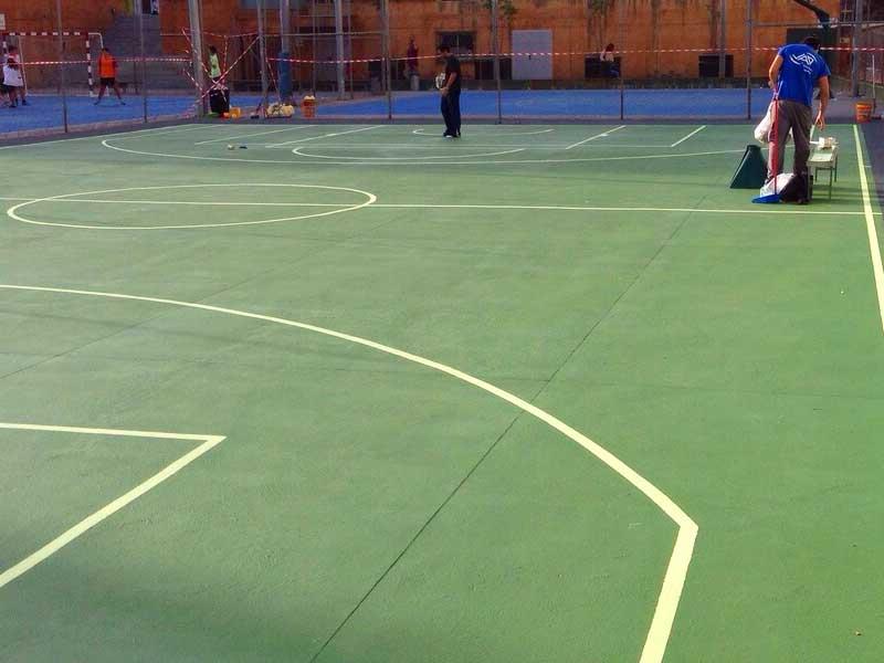 pavimentos deportivos exteriores malaga