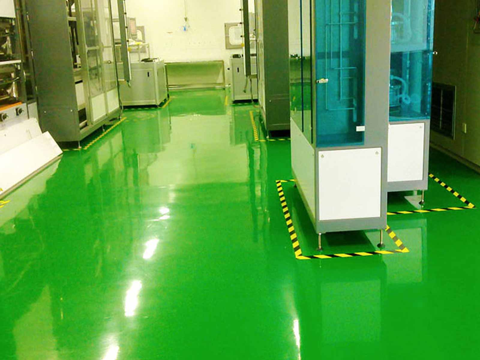 suelo poliuretano industria