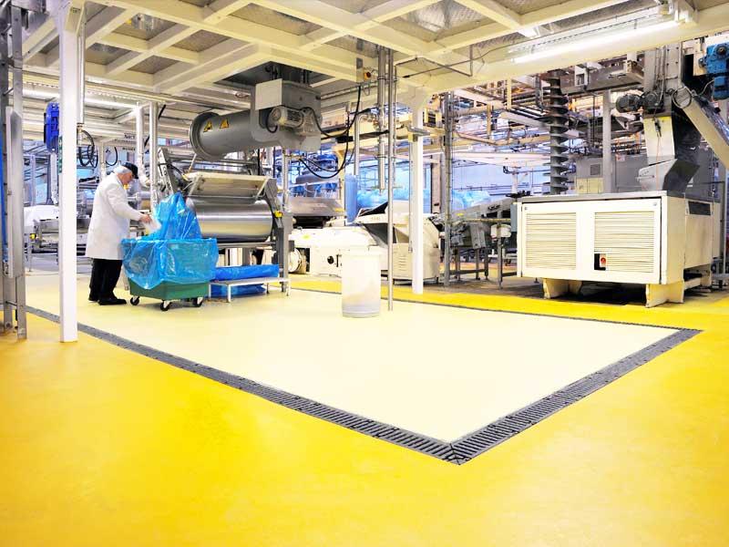 pavimento para industria alimentaria