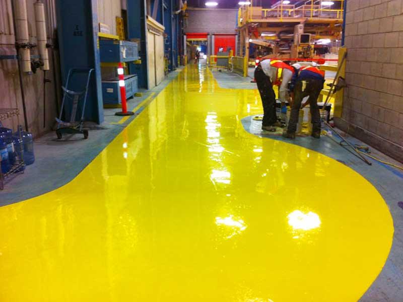 pavimento de poliuretano industria alimentaria