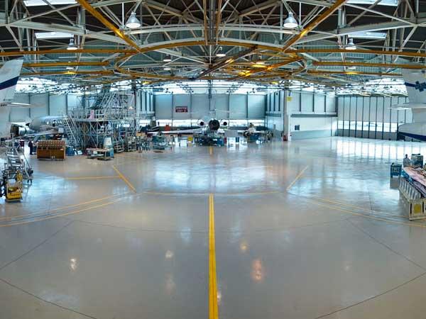 pavimento industrial hangar granada