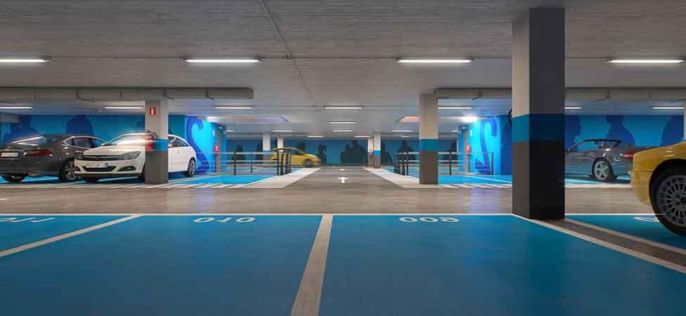 precio por m2 pavimento parking sevilla